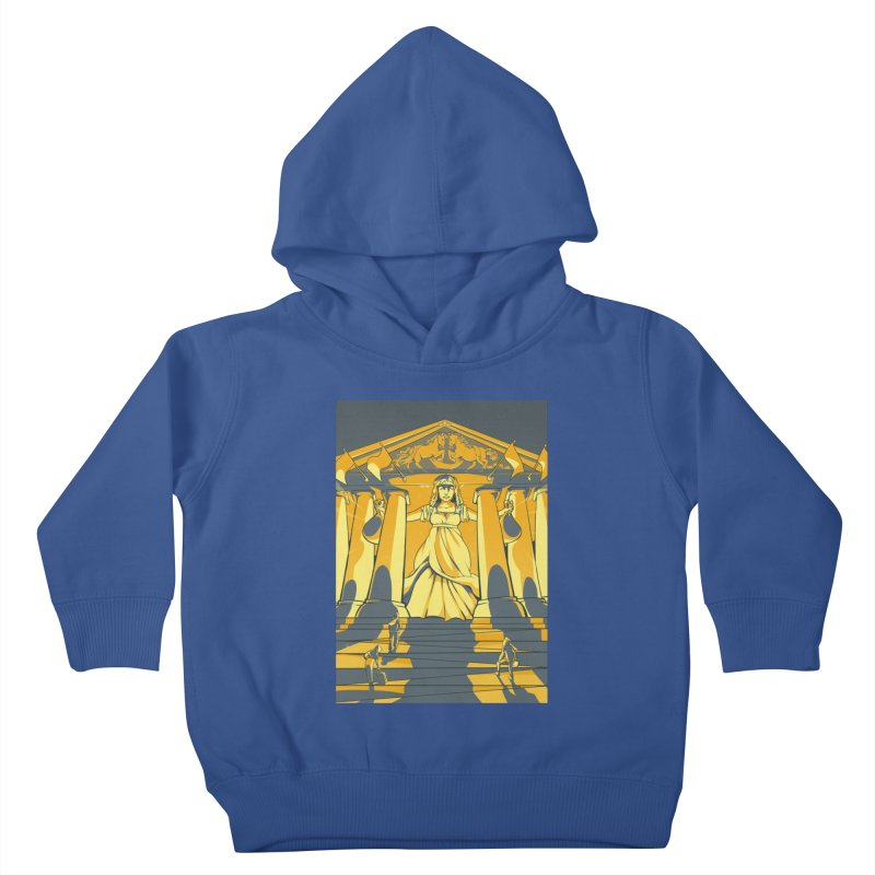 Third National Savings Bank Card Art Kids Toddler Pullover Hoody by The Spiffai Shop