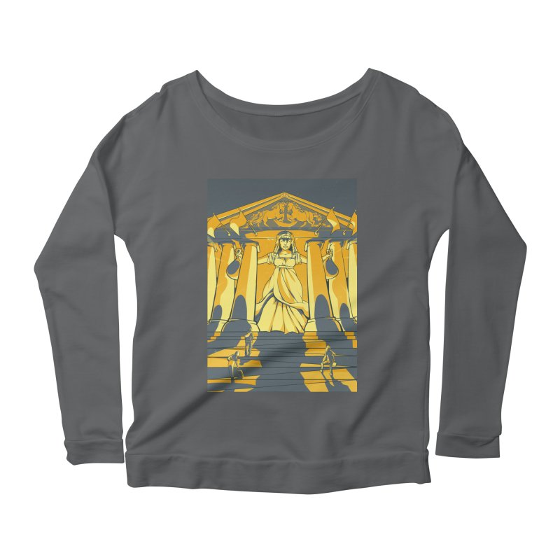 Third National Savings Bank Card Art Women's Scoop Neck Longsleeve T-Shirt by The Spiffai Shop