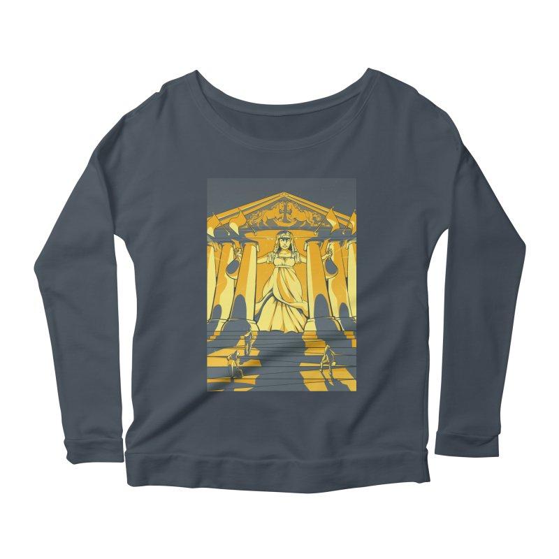 Third National Savings Bank Card Art Women's Scoop Neck Longsleeve T-Shirt by The Spiffai Shop