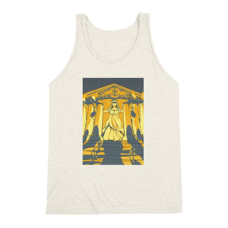 Third National Savings Bank Card Art Men's Triblend Tank by The Spiffai Shop