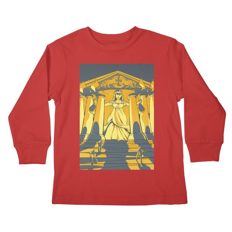 Third National Savings Bank Card Art Kids Longsleeve T-Shirt by The Spiffai Shop