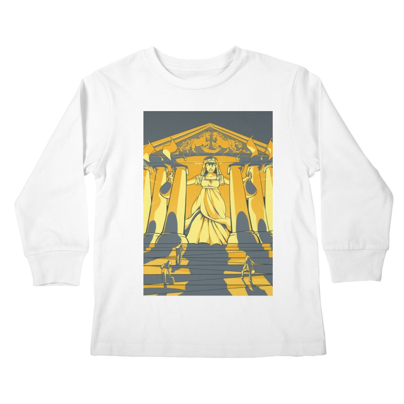 Third National Savings Bank Card Art Kids Longsleeve T-Shirt by The Spiffai Shop