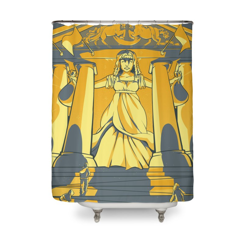 Third National Savings Bank Card Art Home Shower Curtain by The Spiffai Shop