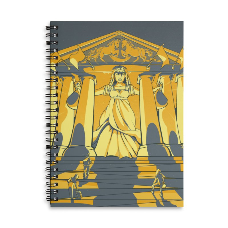 Third National Savings Bank Card Art Accessories Lined Spiral Notebook by The Spiffai Shop