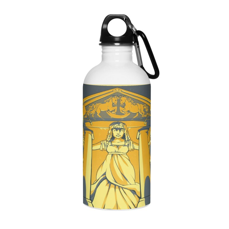 Third National Savings Bank Card Art Accessories Water Bottle by The Spiffai Shop