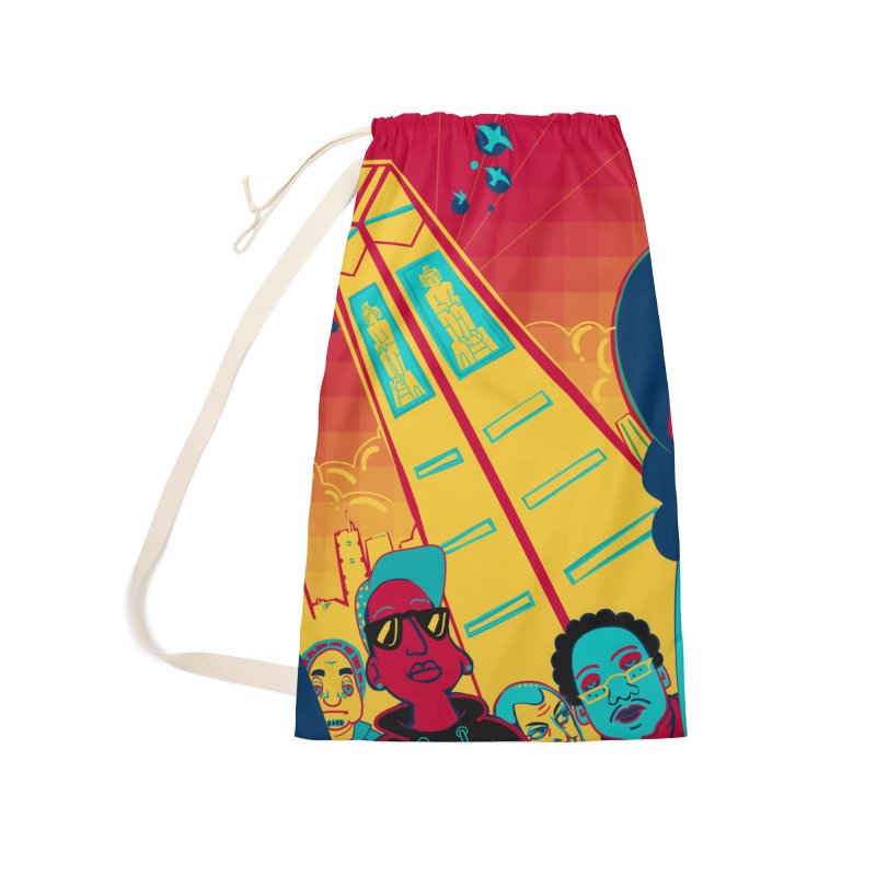 Presidential Tower Card Art Accessories Laundry Bag Bag by The Spiffai Shop