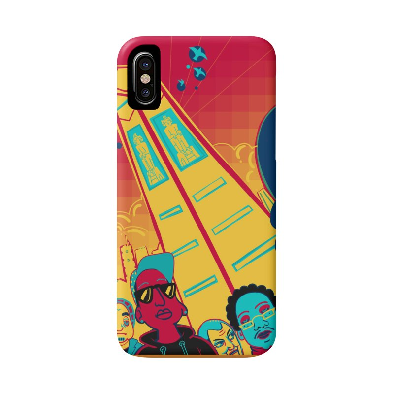 Presidential Tower Card Art Accessories Phone Case by The Spiffai Shop