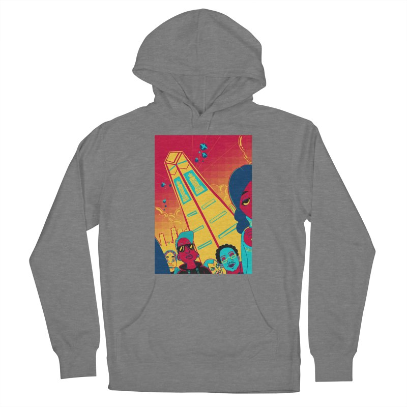 Presidential Tower Card Art Women's Pullover Hoody by The Spiffai Shop