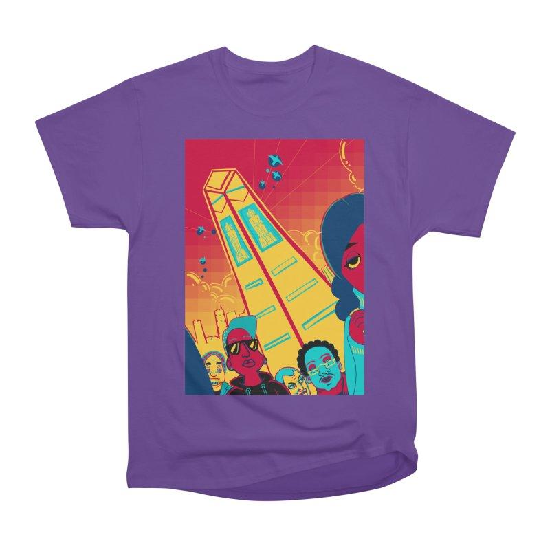 Presidential Tower Card Art Women's Heavyweight Unisex T-Shirt by The Spiffai Shop