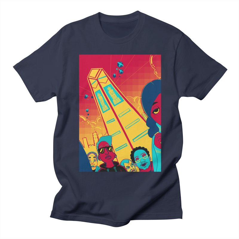 Presidential Tower Card Art Women's Regular Unisex T-Shirt by The Spiffai Shop