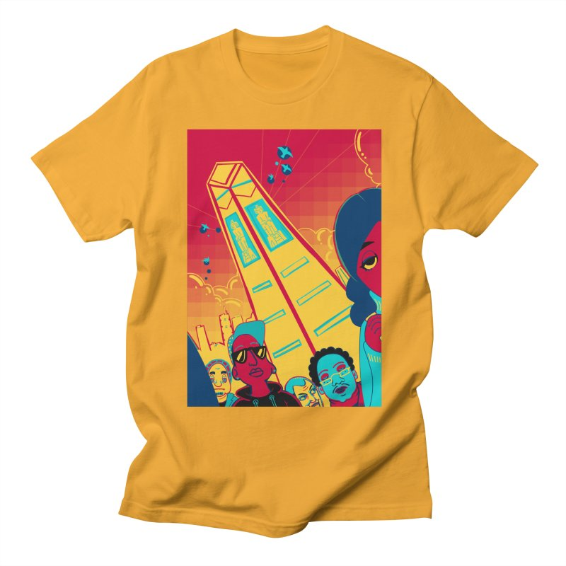 Presidential Tower Card Art Men's Regular T-Shirt by The Spiffai Shop