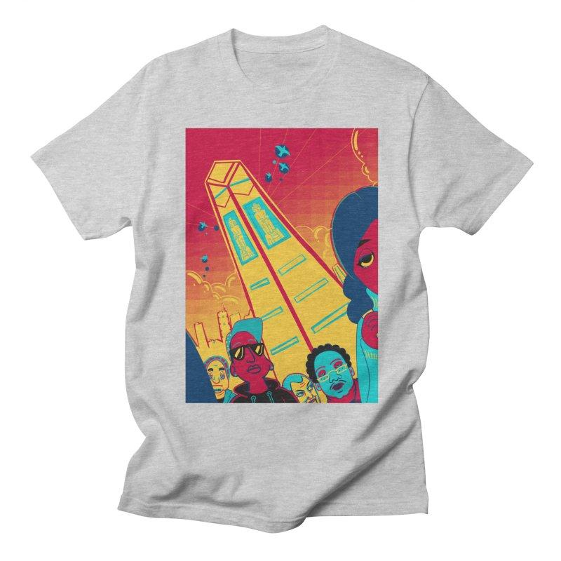 Presidential Tower Card Art Men's Regular T-Shirt by The Spiffai Shop