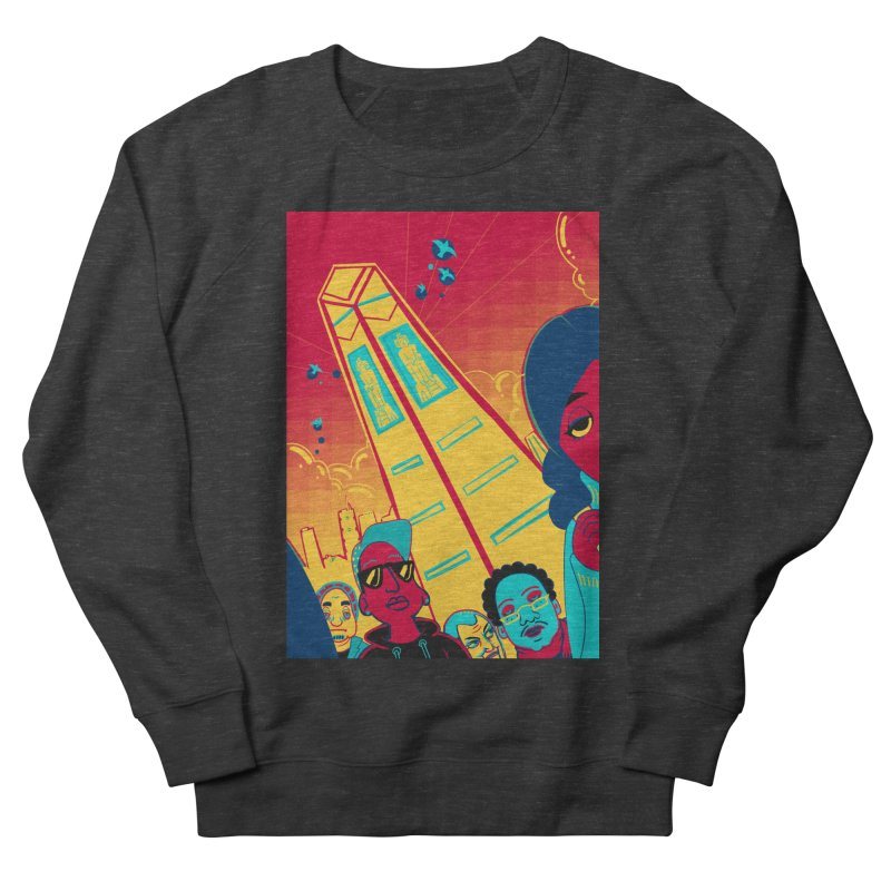 Presidential Tower Card Art Women's Sweatshirt by The Spiffai Shop
