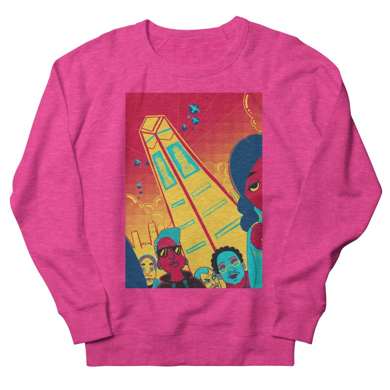 Presidential Tower Card Art Men's French Terry Sweatshirt by The Spiffai Shop