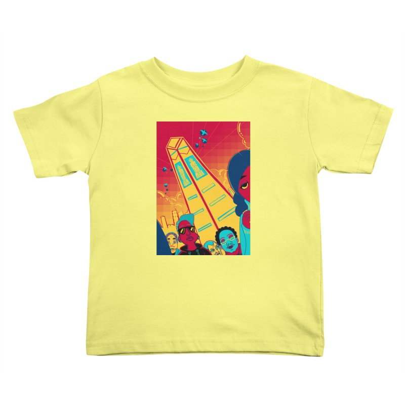 Presidential Tower Card Art Kids Toddler T-Shirt by The Spiffai Shop