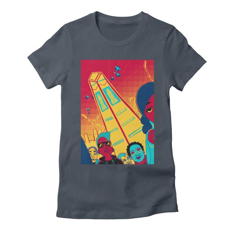 Presidential Tower Card Art Women's T-Shirt by The Spiffai Shop