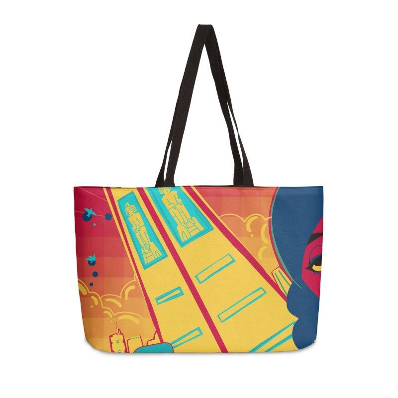 Presidential Tower Card Art Accessories Weekender Bag Bag by The Spiffai Shop