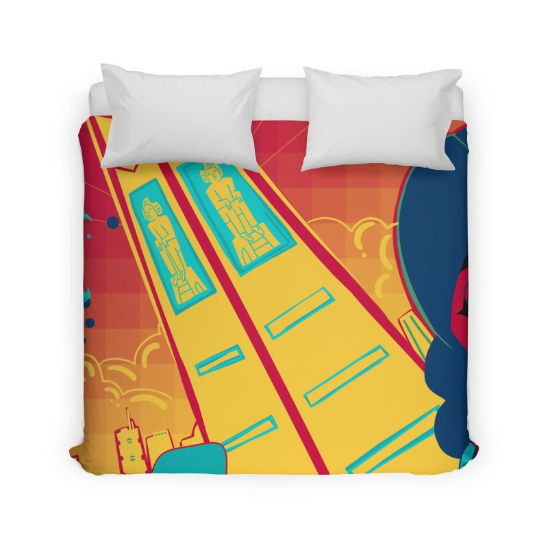 Presidential Tower Card Art Home Duvet by The Spiffai Shop
