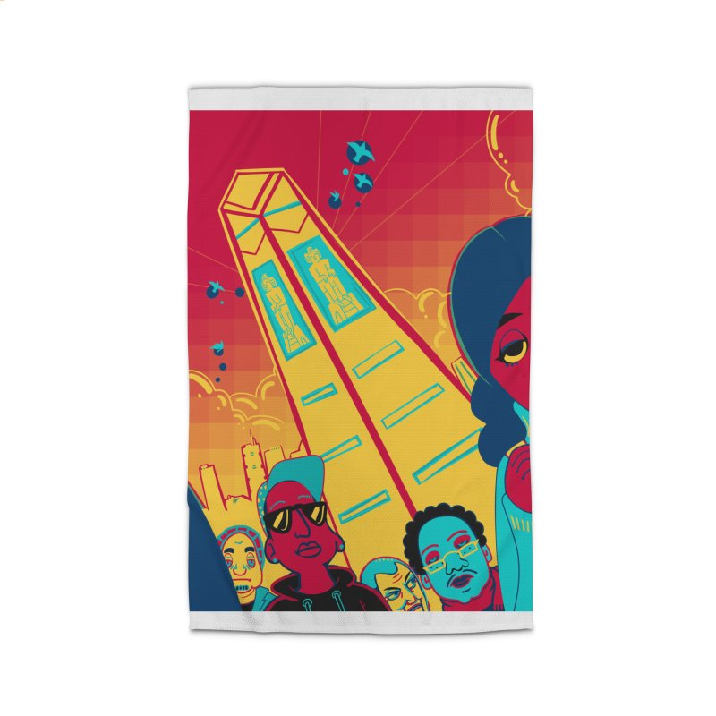 Presidential Tower Card Art Home Rug by The Spiffai Shop
