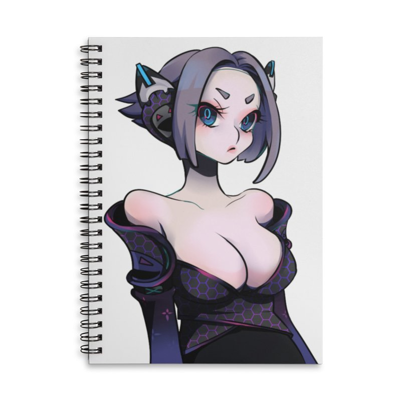 Voide from S2V2 Accessories Lined Spiral Notebook by The Spiffai Shop