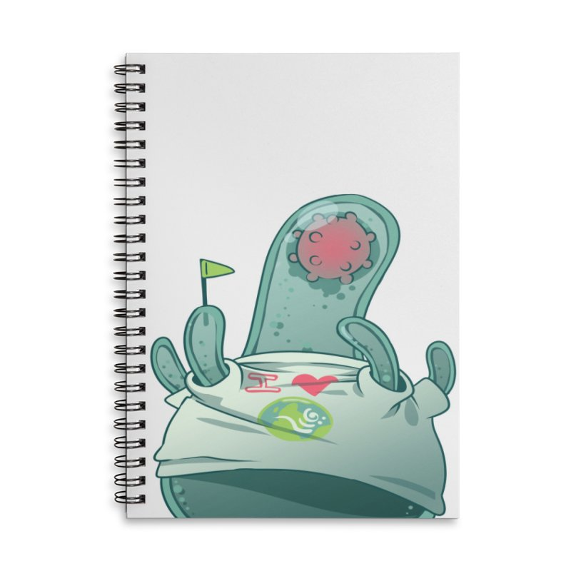Azimuth from S2V2 Accessories Lined Spiral Notebook by The Spiffai Shop