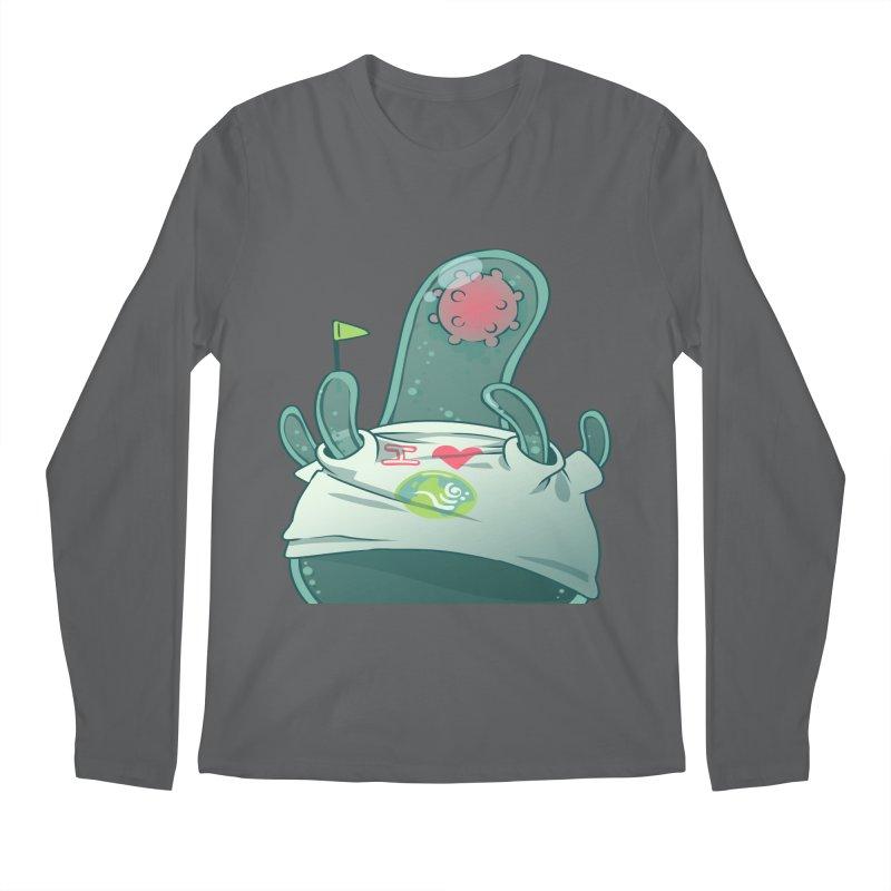 Azimuth from S2V2 Men's Regular Longsleeve T-Shirt by The Spiffai Shop
