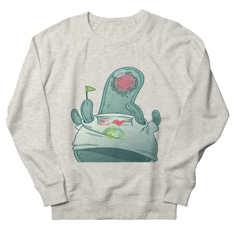 Azimuth from S2V2 Men's French Terry Sweatshirt by The Spiffai Shop