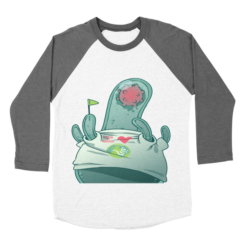 Azimuth from S2V2 Men's Baseball Triblend Longsleeve T-Shirt by The Spiffai Shop