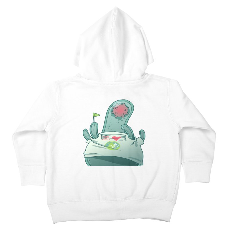 Azimuth from S2V2 Kids Toddler Zip-Up Hoody by The Spiffai Shop
