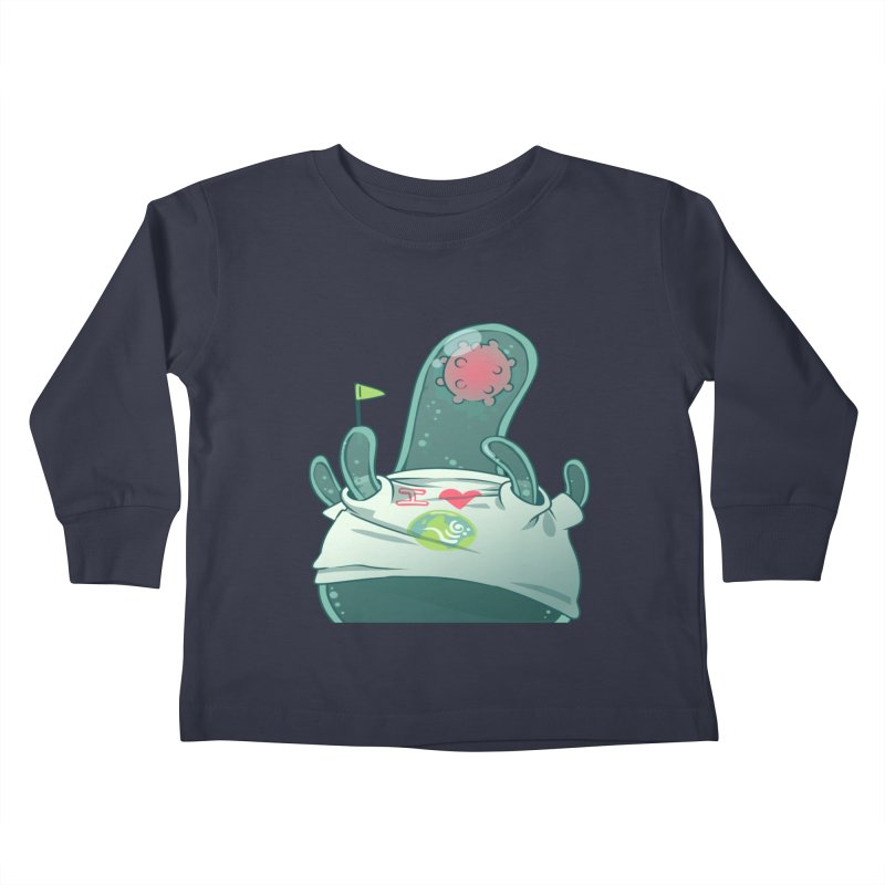 Azimuth from S2V2 Kids Toddler Longsleeve T-Shirt by The Spiffai Shop