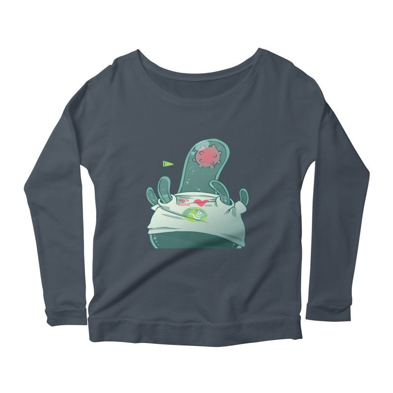 Azimuth from S2V2 Women's Scoop Neck Longsleeve T-Shirt by The Spiffai Shop