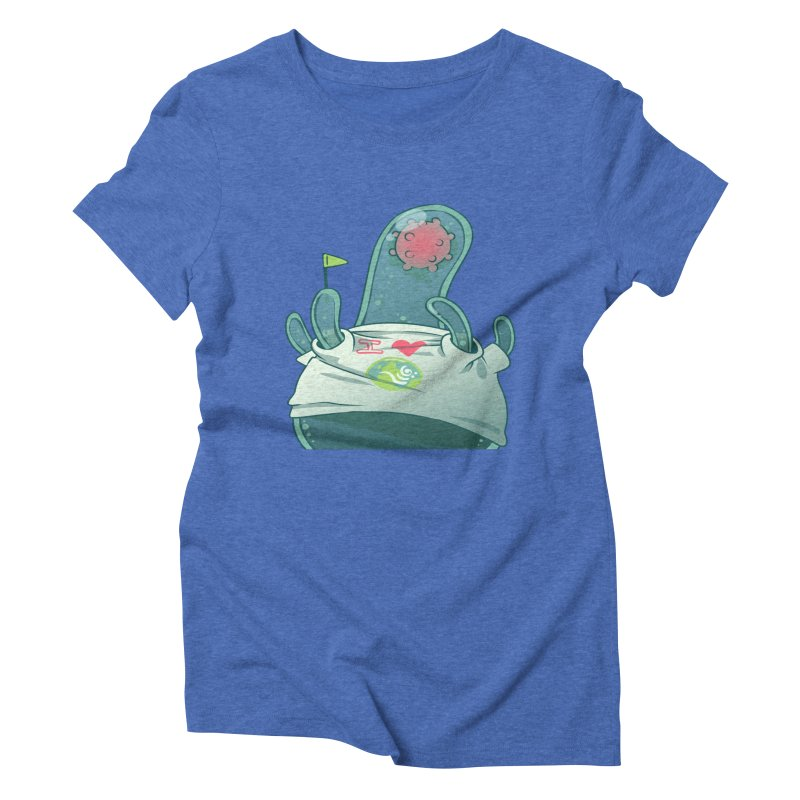 Azimuth from S2V2 Women's Triblend T-Shirt by The Spiffai Shop