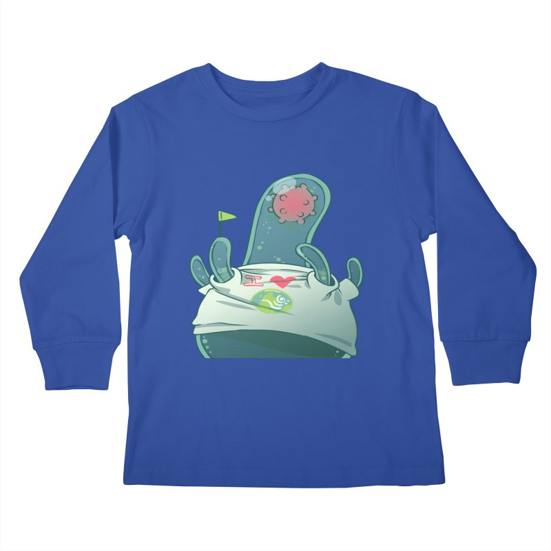 Azimuth from S2V2 Kids Longsleeve T-Shirt by The Spiffai Shop