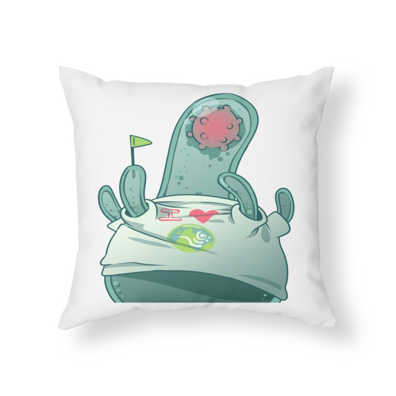 Azimuth from S2V2 Home Throw Pillow by The Spiffai Shop