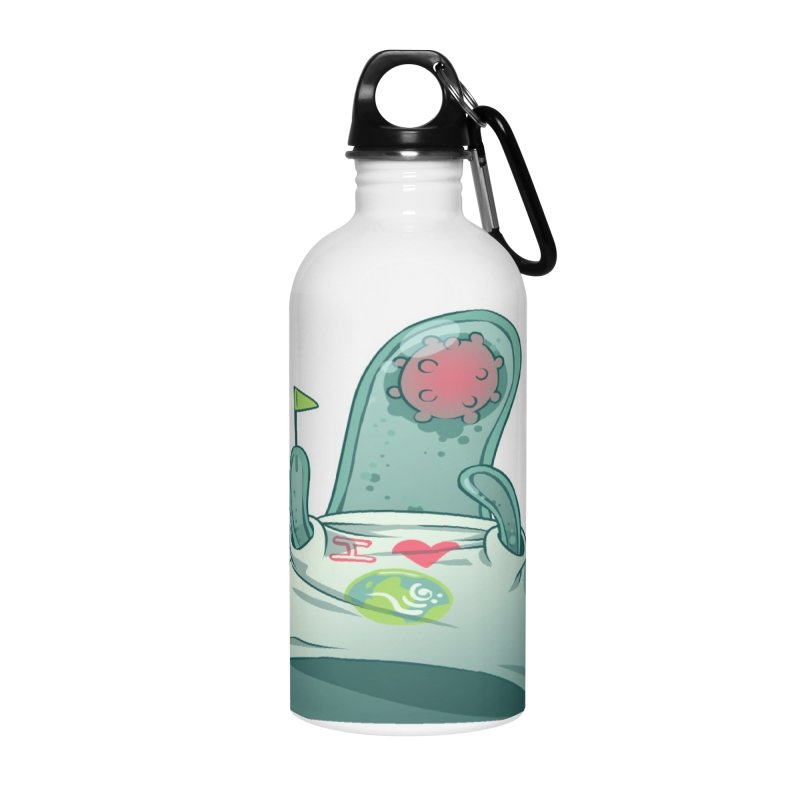Azimuth from S2V2 Accessories Water Bottle by The Spiffai Shop