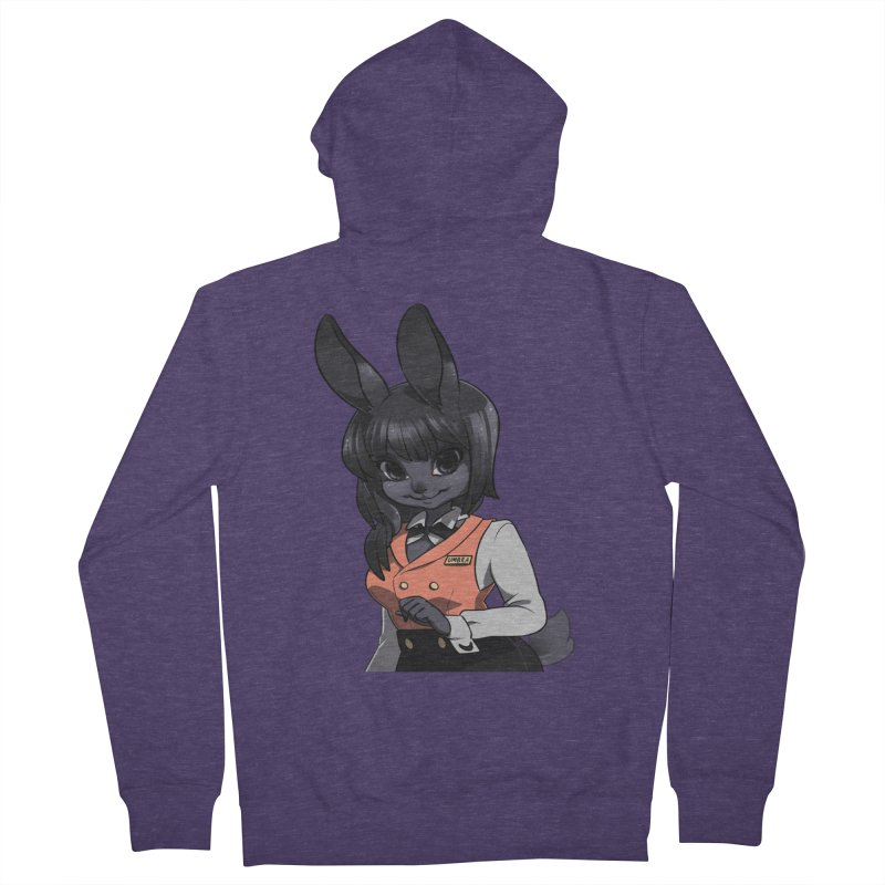 Umbra from S2V2 Men's French Terry Zip-Up Hoody by The Spiffai Shop