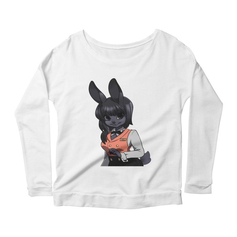 Umbra from S2V2 Women's Scoop Neck Longsleeve T-Shirt by The Spiffai Shop