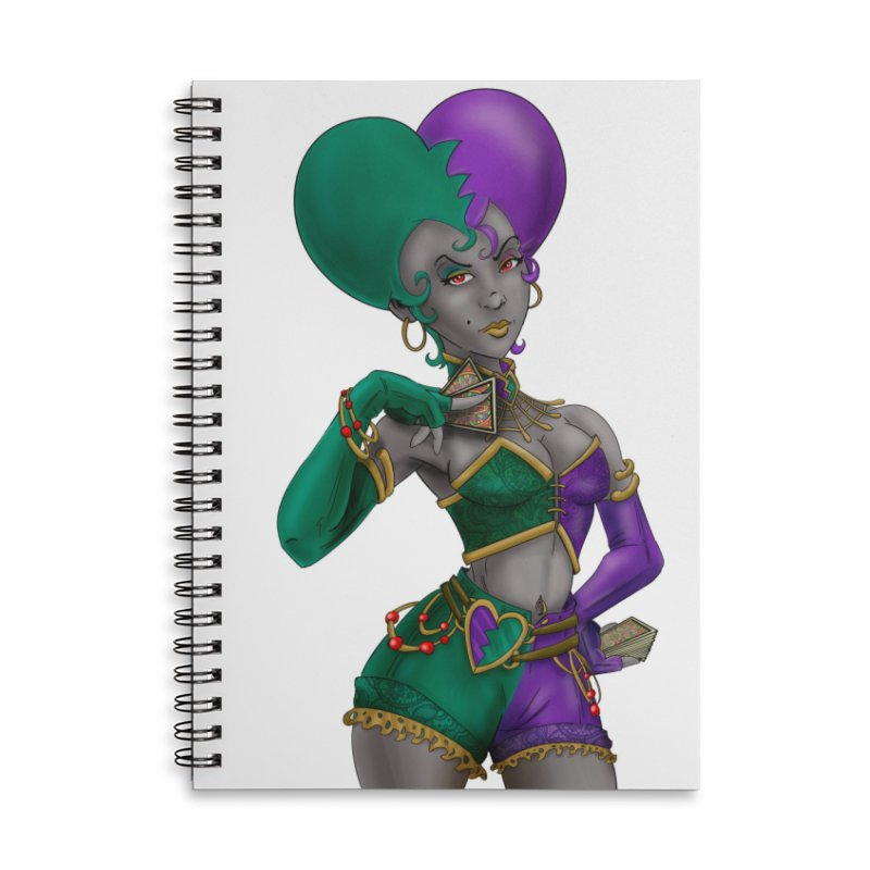 Noditi from S2V2 Accessories Lined Spiral Notebook by The Spiffai Shop