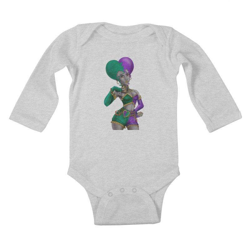 Noditi from S2V2 Kids Baby Longsleeve Bodysuit by The Spiffai Shop