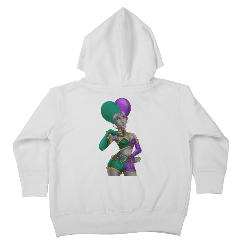 Noditi from S2V2 Kids Toddler Zip-Up Hoody by The Spiffai Shop