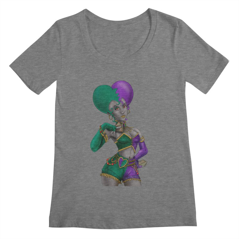 Noditi from S2V2 Women's Scoopneck by The Spiffai Shop