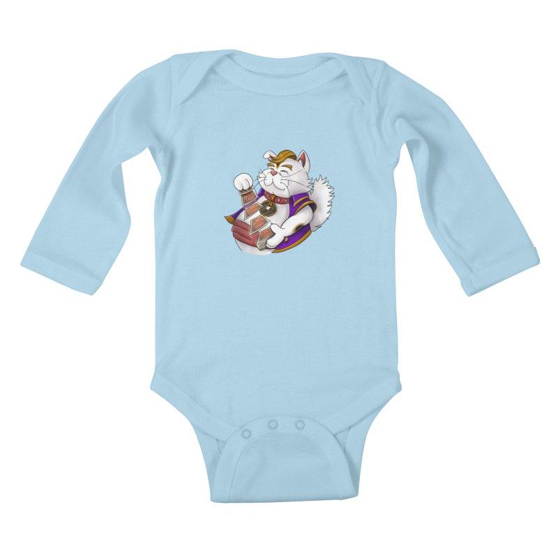Helio from S2V2 Kids Baby Longsleeve Bodysuit by The Spiffai Shop