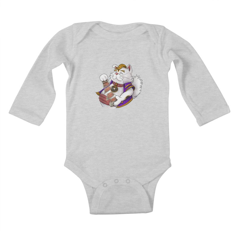 Helio from S2V2 Kids Baby Longsleeve Bodysuit by The Spiffai Shop