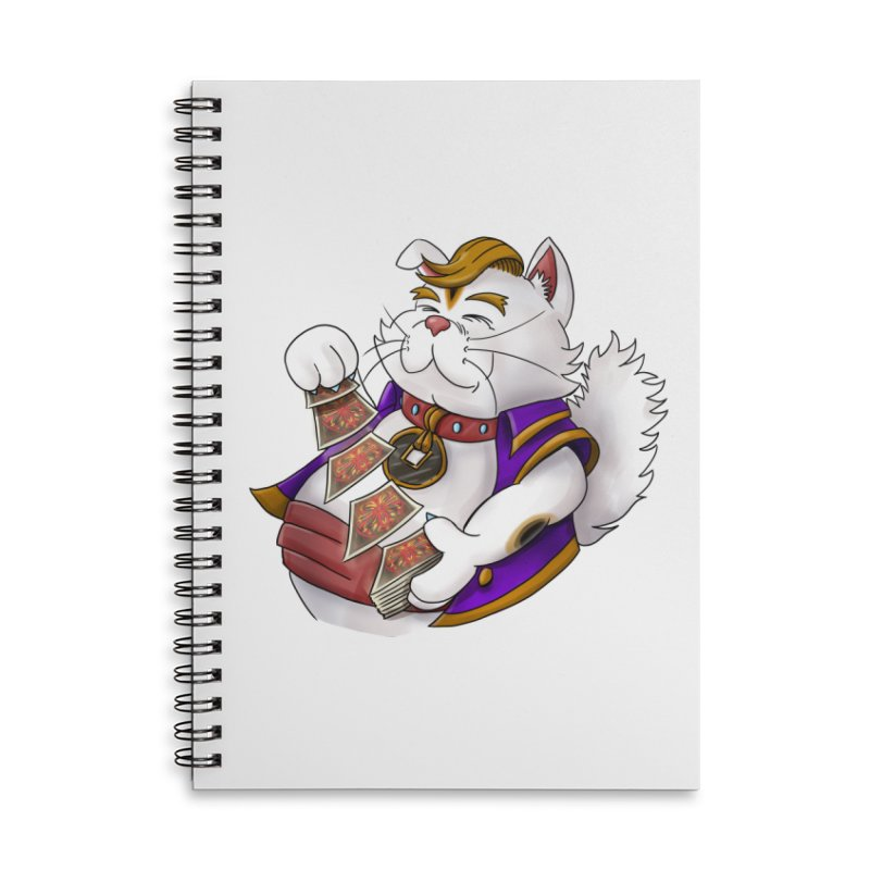 Helio from S2V2 Accessories Lined Spiral Notebook by The Spiffai Shop