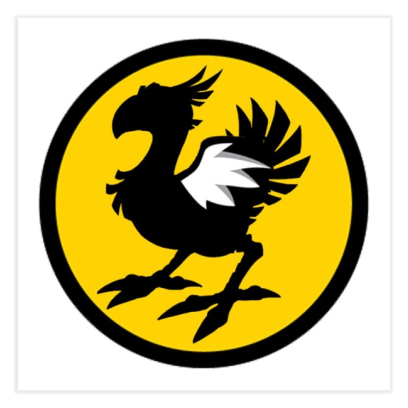Chocobo Wild Wings Home Fine Art Print by Spinosaurus's Artist Shop
