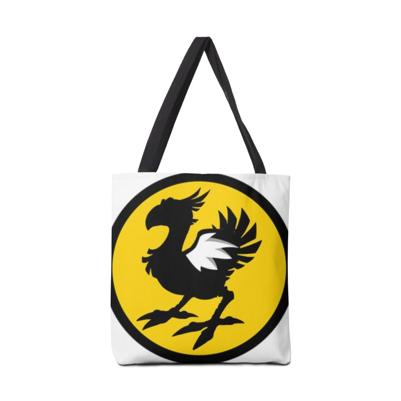 Chocobo Wild Wings Accessories Bag by Spinosaurus's Artist Shop
