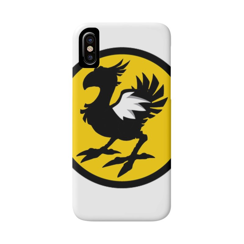 Chocobo Wild Wings Accessories Phone Case by Spinosaurus's Artist Shop