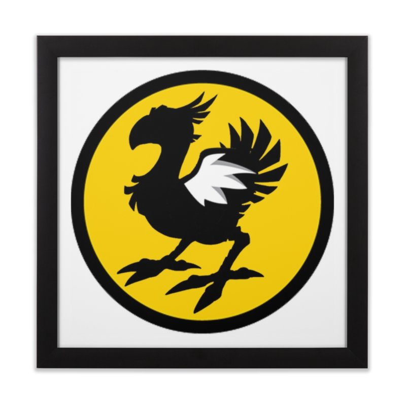 Chocobo Wild Wings Home Framed Fine Art Print by Spinosaurus's Artist Shop