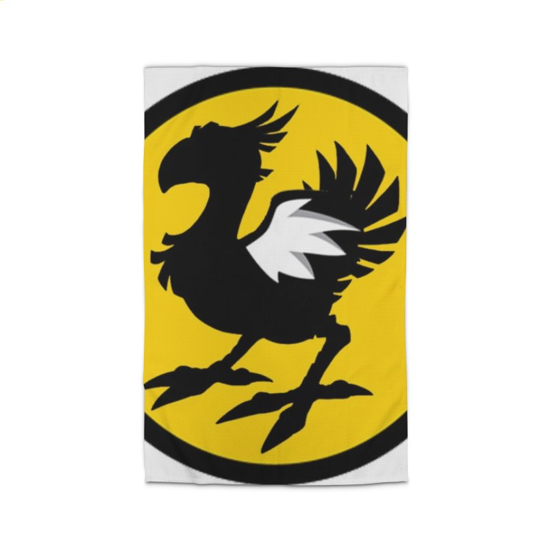Chocobo Wild Wings Home Rug by Spinosaurus's Artist Shop