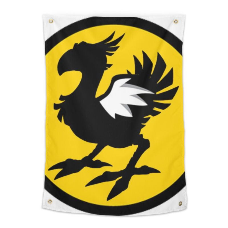 Chocobo Wild Wings Home Tapestry by Spinosaurus's Artist Shop